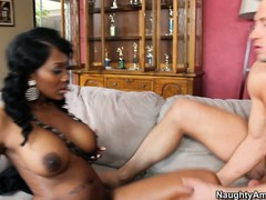 Nyomi Banxxx gets her booty slammed from behind on all fours