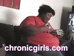 Fattest bitch and skinniest nigga in porn meet 4 a world