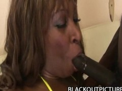 Tasha Knight: Big Ass Ebony Slut Feasting On Black Schlong