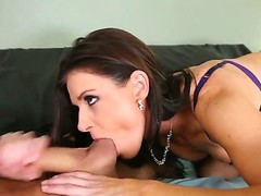 Brunette porn diva India Summer with phat butt and James Deen are so fucking horny in this steamy sex action
